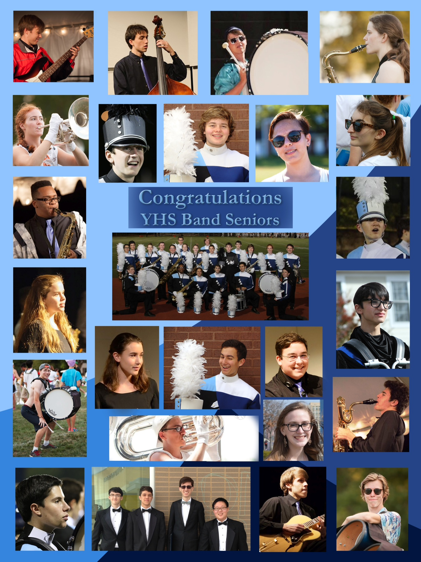 2016 YHS yearbook page